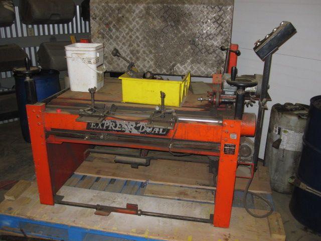 Berhardt Express Dual Reel Grinder For Sale Grinder Used Equipment Sale