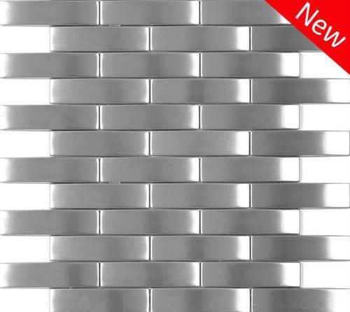 Best 2X4 Metal Backsplash Tile On Sale Stainless Steel Tile 400 x 300