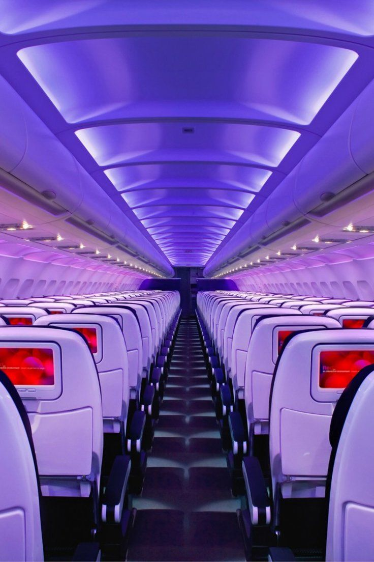 How to Get the Best Airplane Seat Virgin america, Air