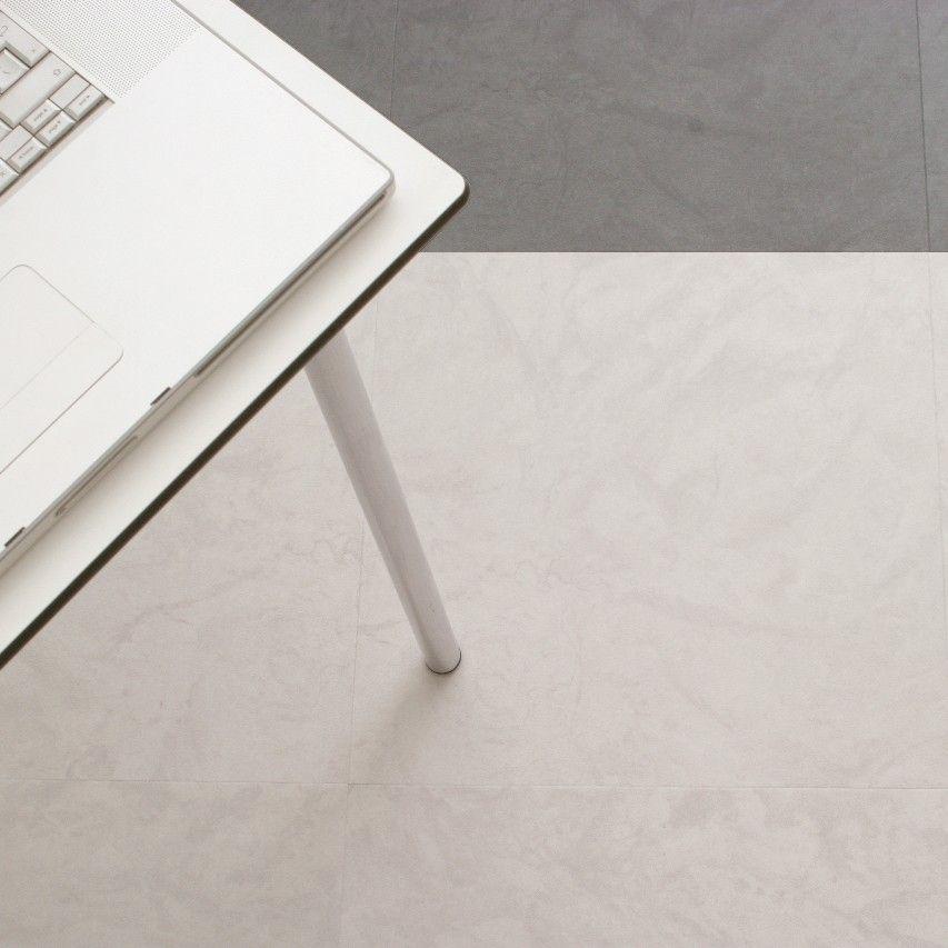 Dalle Pvc à Coller Amtico Spacia Stone Ceramic Light Pas Cher Dalle Pvc Dalle Pvc Clipsable Carrelage Blanc