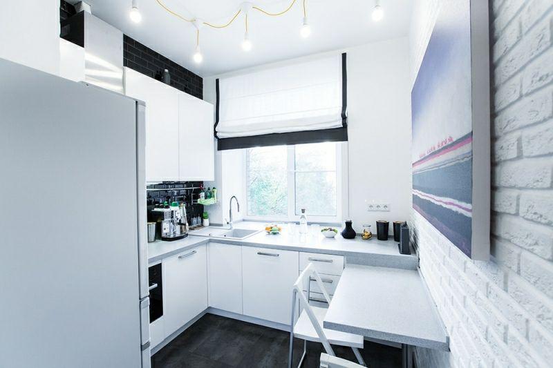 Praktische Ideen und Gestaltungstipps für kleine Küchen - kleine küchen ideen