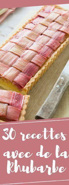 Que faire avec de la rhubarbe ? 50 recettes de desserts pour se régaler