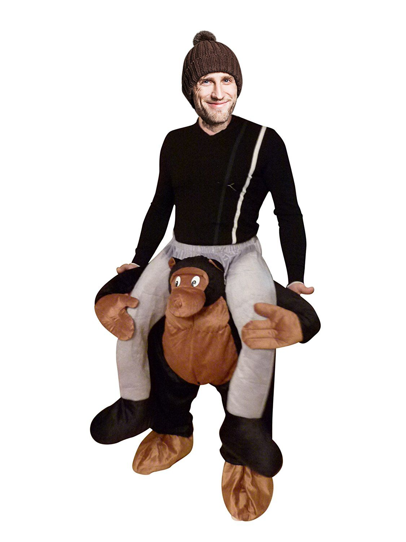 Carry Me Affen Kostum Gr M Xl Affen Kostume Affe Kostume Affen