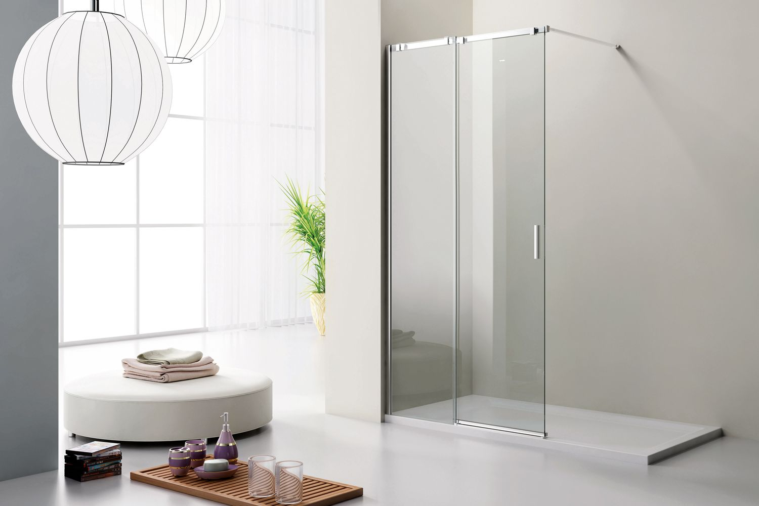 Our complete shower ranges of walk in, glass, custom shower ...
