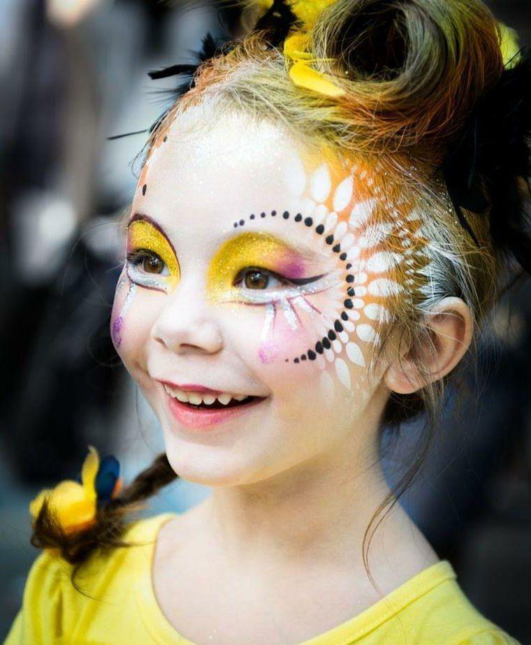 1001 + Idee per Trucchi di Halloween per bambini | Trucco ...