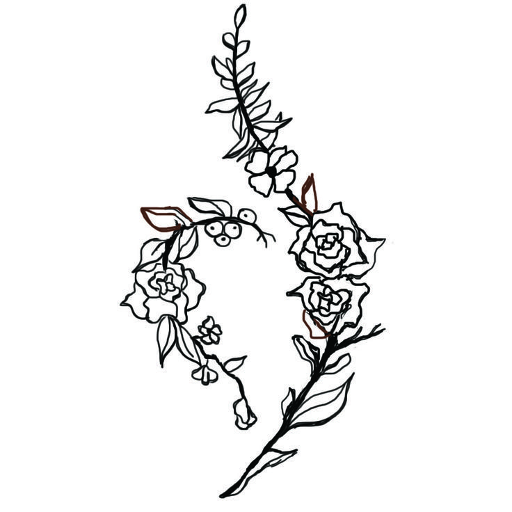 42 Best Addiction Symbol Tattoos Images On Pinterest: National Eating Disorder Recovery Tattoo Design