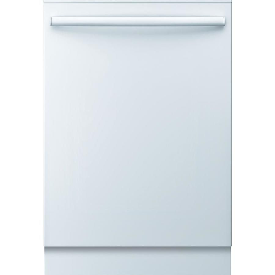 Bosch Ascenta 50 Decibel Top Control 24 In Built In Dishwasher White Energy Star Lowes Com Dishwasher White Built In Dishwasher Energy Star