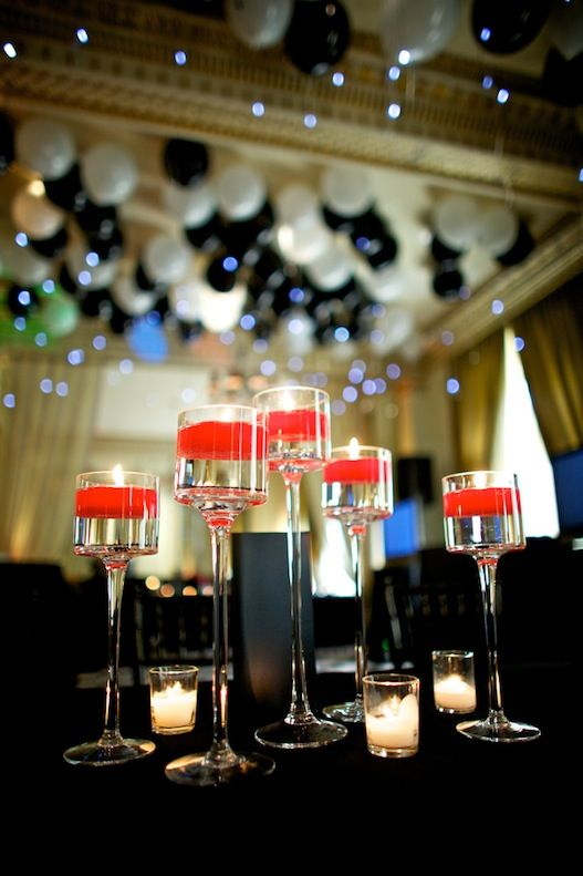 Old Hollywood inspired Wedding - red- black - old cars-  balloons - Design & Coordination: Portland Wedding Planner- Champagne Wedding Coordination Photography & Photo booth: Mitchelldyer Photography - Portland Oregon Photographer Craig Mitchelldyer Venue: Hotel deLuxe Catering: Gracie's at Hotel deLuxe Rentals: The Party Place Florist: Blüm; Design In Flowers Invitation Designer: Paper Bloom DJ: Event Team Entertainment Cake: La Joconde cake studio + bakery Old cars: Private contact
