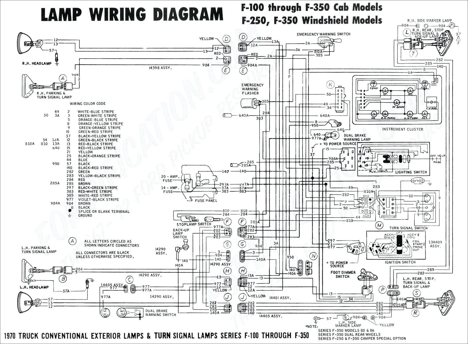 Ford F 350 Diagram