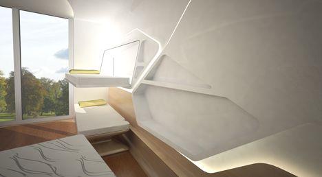 Zaha Hadid designs apartment for Ronald McDonald charity house ...