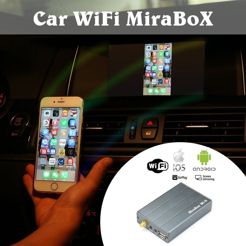 Car Mirrorlink Wireless Airplay Allshare Cast, Screen