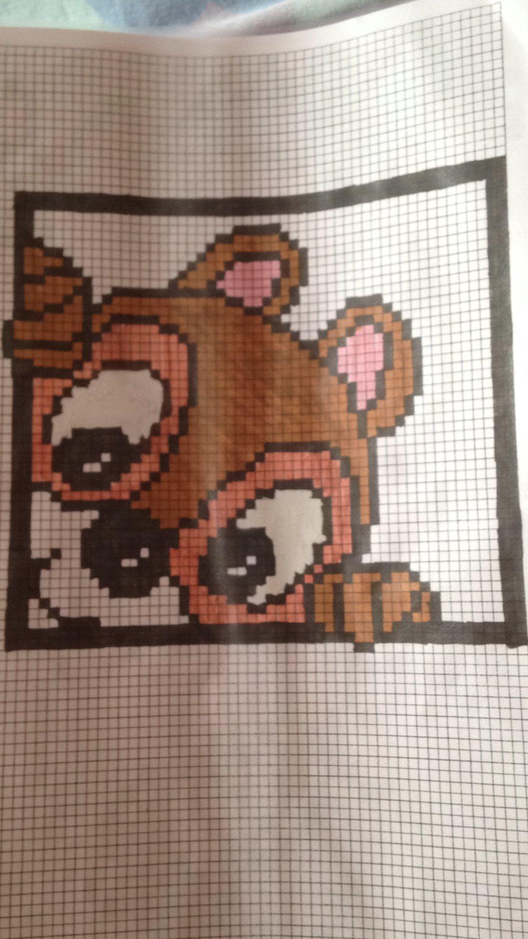 Epingle Par Bella Sur Mes Pixels Arts Dessin Petit Carreau Dessin Pixel Stich Dessin