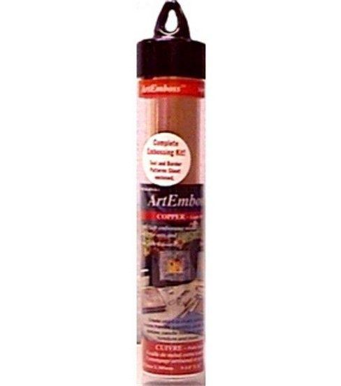 Artemboss 9 1 4 X12 Foil Sheet Copper Light Weight Copper Lighting Metal Embossing Aluminum Can Crafts