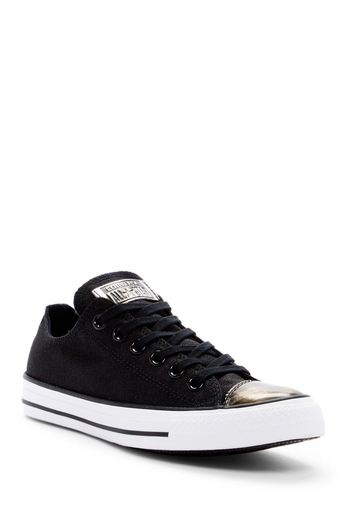 Converse Chuck Taylor All Star Brush Off Metallic Cap Toe Sneaker (Women) kuNtK7i3HW