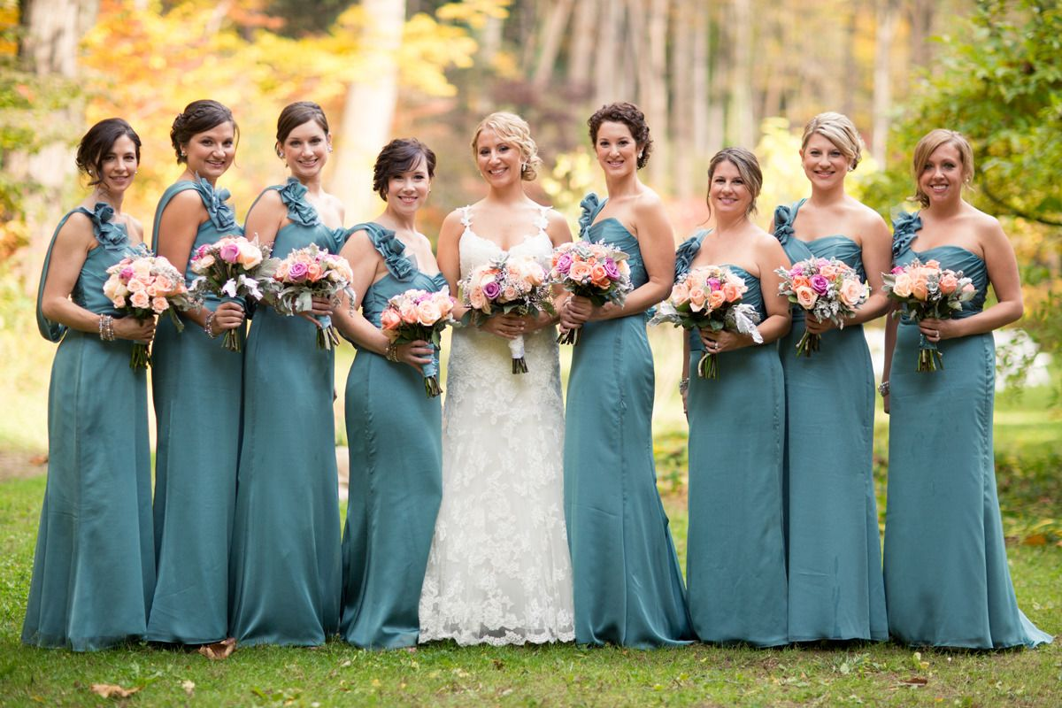 Philadelphia wedding at the old mill teal bridesmaid dresses and philadelphia wedding at the old mill teal bridesmaid dressesteal ombrellifo Gallery