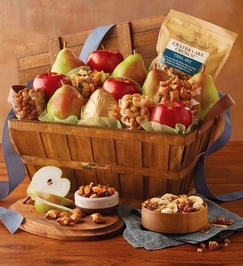 Deluxe Orchard Gift Basket & Deluxe Orchard Gift Basket | Christmas | Pinterest | Gift baskets ...