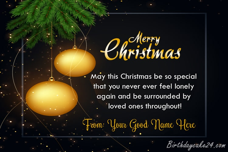 Write Your Name On Christmas Greetings Cards Online Free Merry Christmas Card Greetings Christmas Greetings Christmas Greeting Card Template