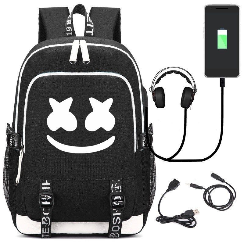DJ Marshmello Extra Large Keyring /& Bag Tag