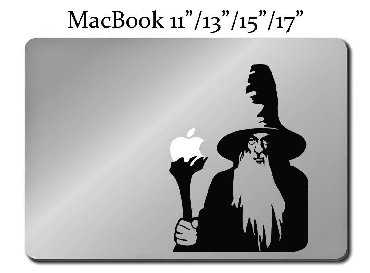 Amazon gandalf lord of the rings apple macbook laptop decal gandalf lord of the rings decal laptop macbook mac pro air sticker hobbit m37 amipublicfo Choice Image