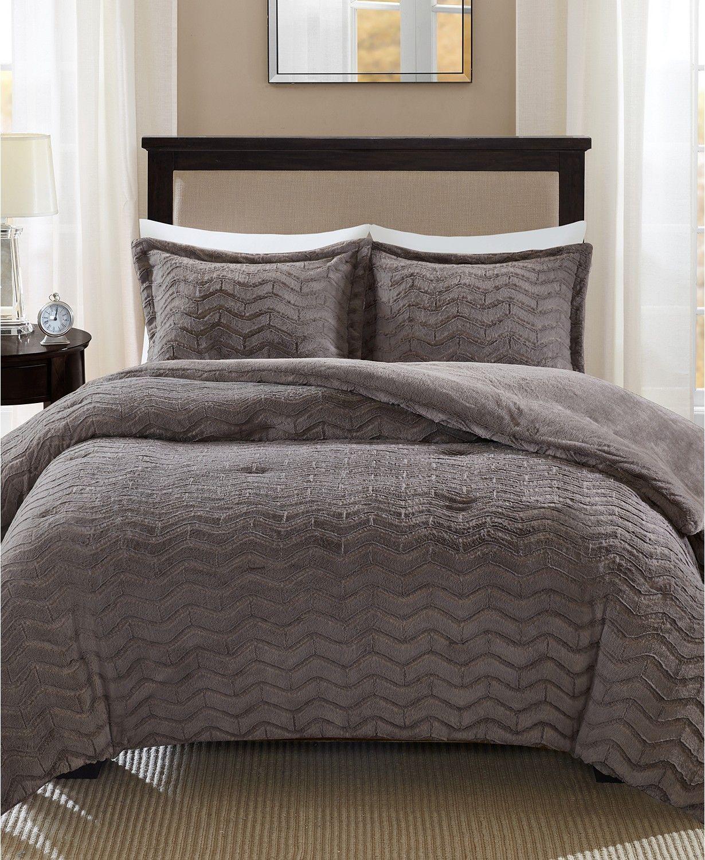 Madison Park Sloan Reversible 3 Pc King California King Comforter Set Reviews Bed In A Bag Bed Bath Macy S In 2020 Comforter Sets King Comforter Sets Grey Comforter Sets