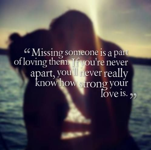 Love Miss Quotes Saying Strong Text Words