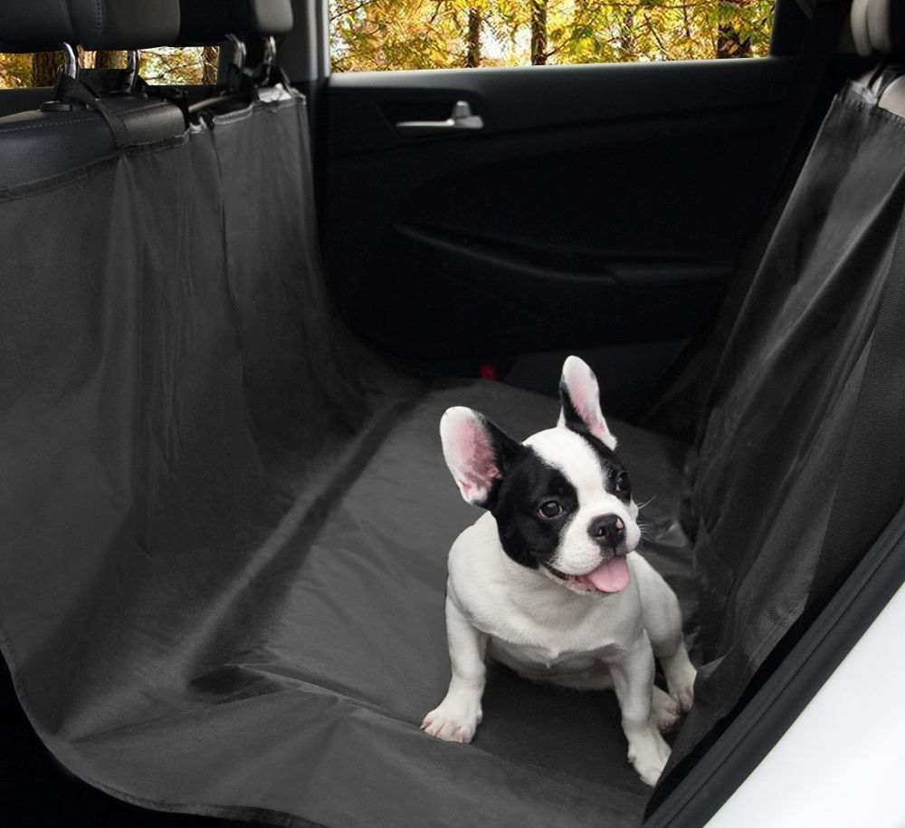 Medium image of 100  waterproof pet seat cover dog hammock backseat cover size 55  x58