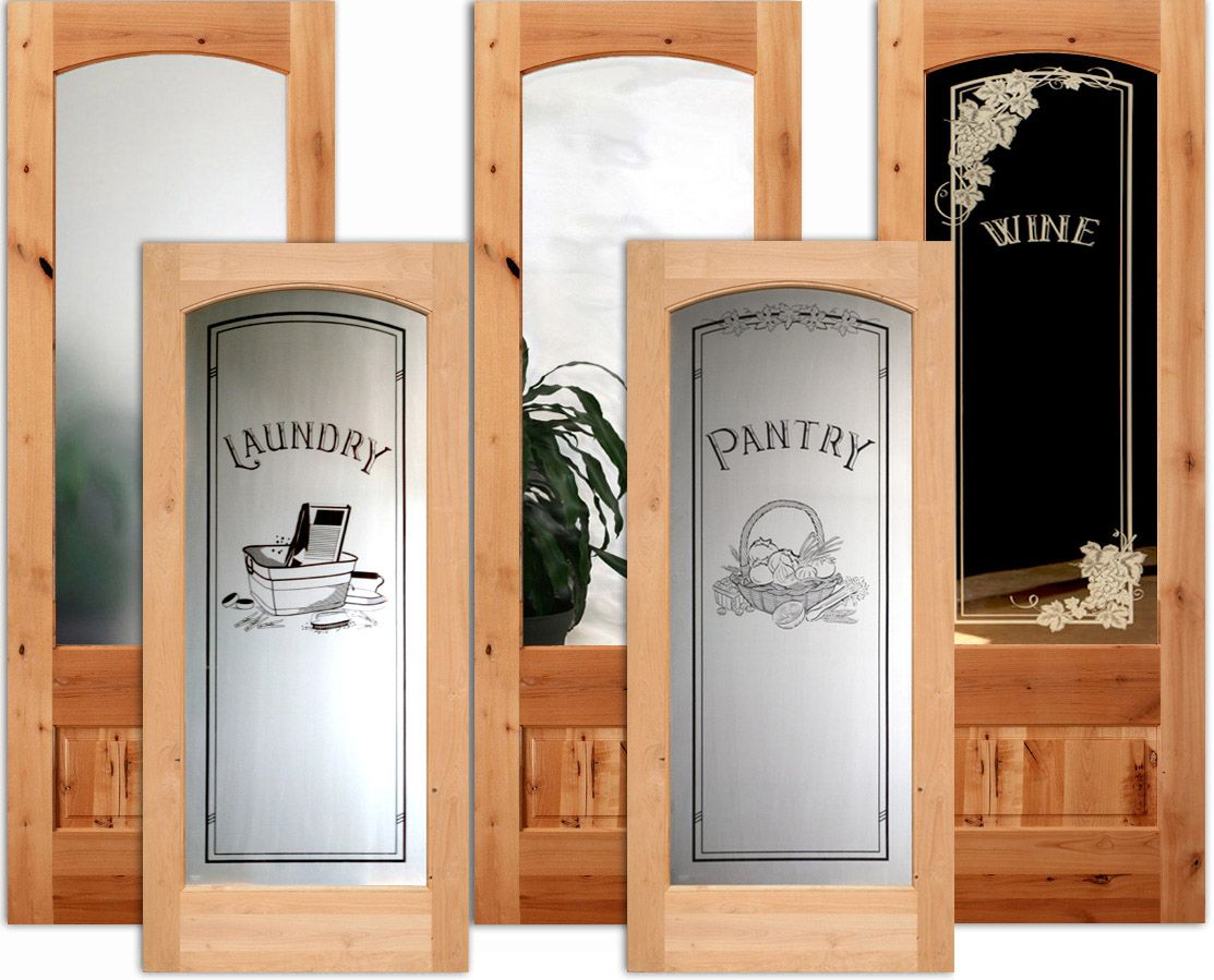 Rustic Doors Rustic Interior Knotty Alder Doors Rustic Doors Frosted Glass Pantry Door Wood Doors Interior