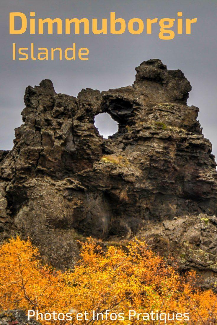 Lors de votre voyage en Islande Du Nord, ne manquez pas les formations de lave de Dimmuborgir à côté du Lac Myvatn. C'est un superbe endroit pour se promener et laisser son imagination libre cours en regardant les formations. Plein de photos et de infos pratiques pour votre visite dans l'article - Vive les paysages d'Islande !