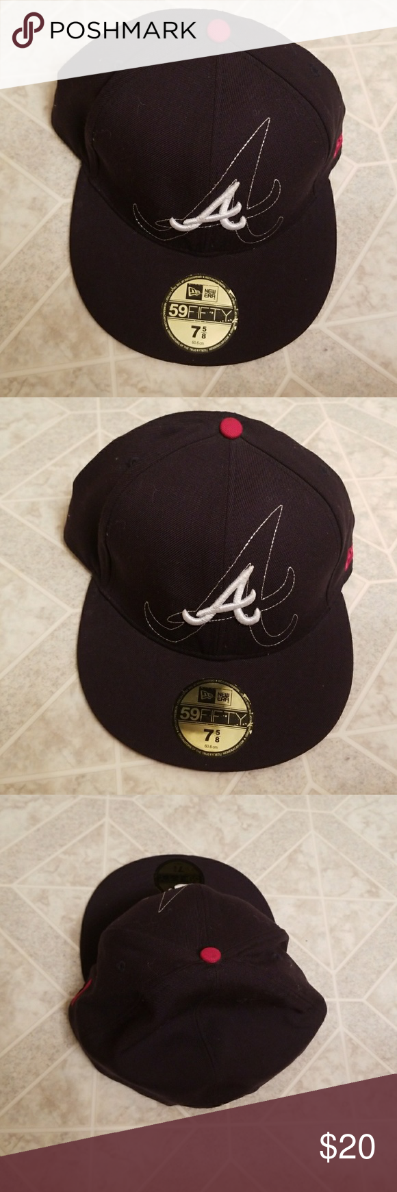 Atlanta Braves Fitted Hat Fitted Hats Atlanta Braves Braves