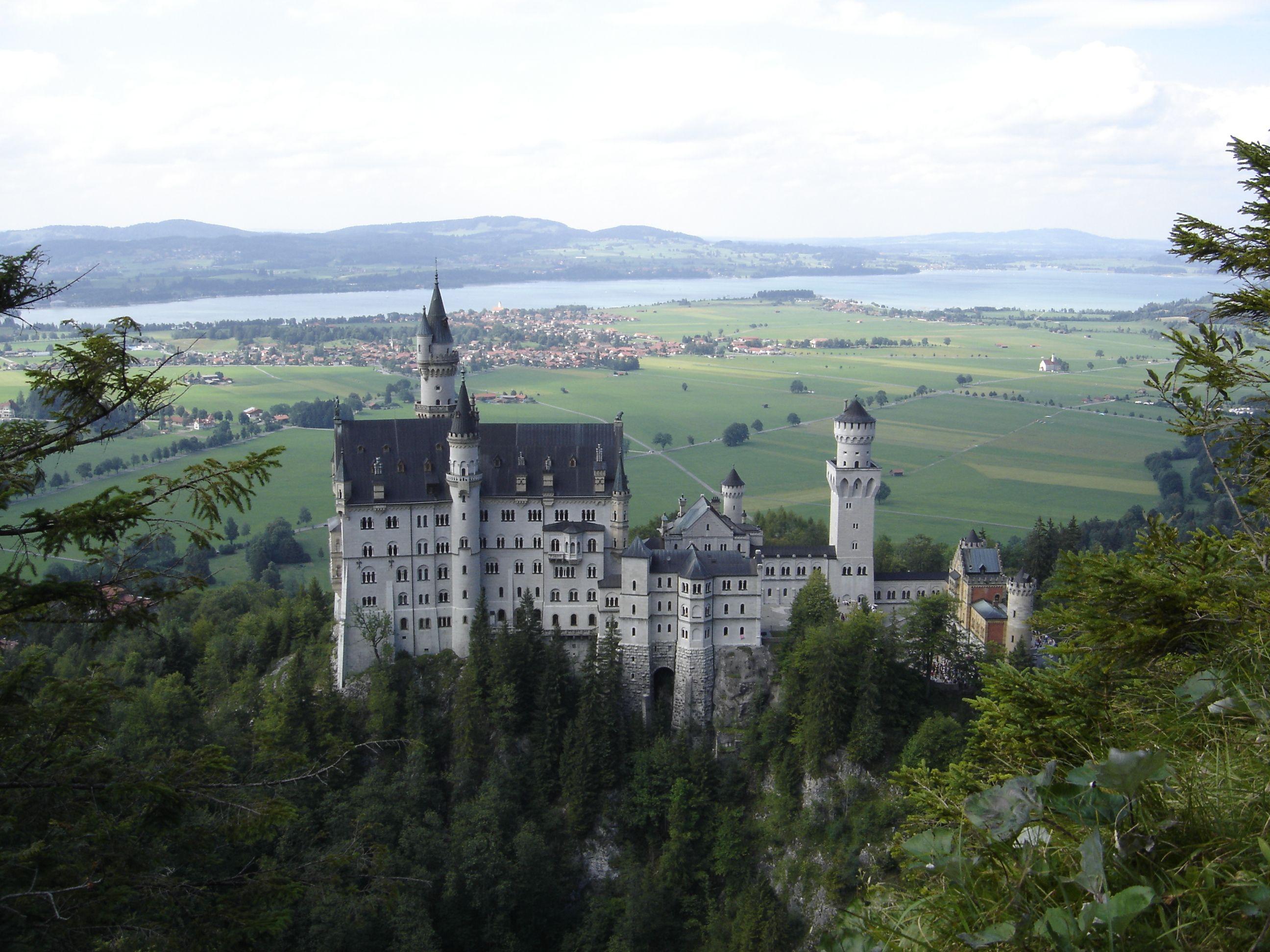 Neuschwanstein Castle. Germany. Neuschwanstein castle