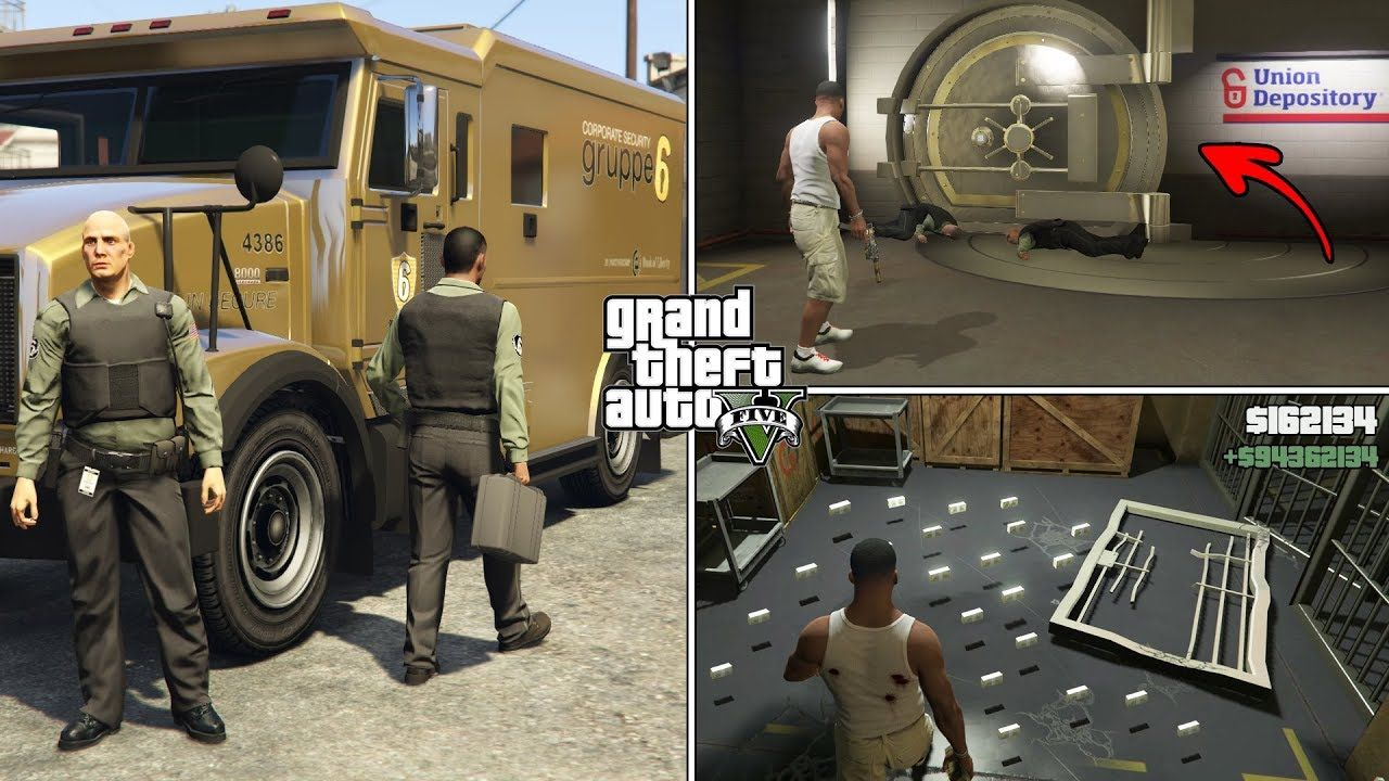 How To Find Money Trucks In Gta 5