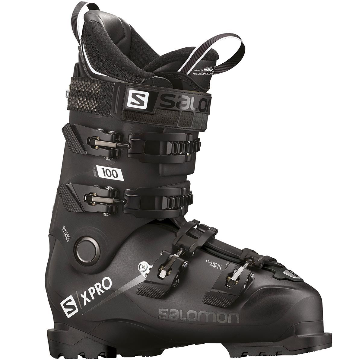 Salomon S X Pro 100 Ski Boot Is On Of The Most Popular Models On The Market Because They Are An Ideal Choice For A Wide Range O Ski Boots Boots Snowboard Boots