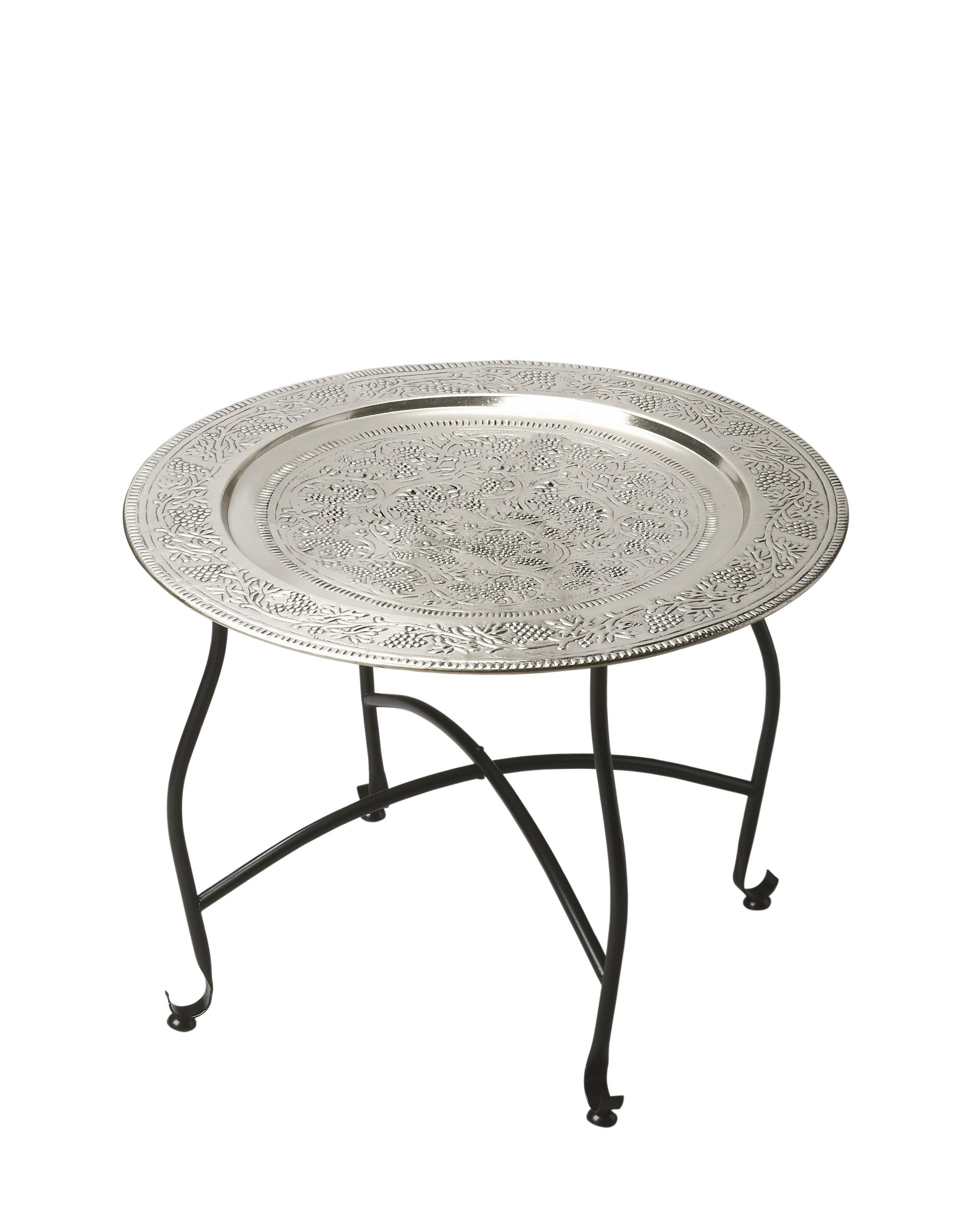 Madam Stoltz Couchtisch Butler Agadir Metal Moroccan Tray Table In 2019 Products Table