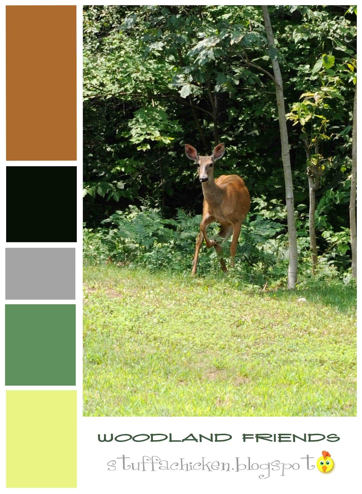 Woodland Color Palette | Woodland Themed Room | Pinterest | Hangout room