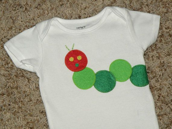 hungry caterpillar...so cute. this will be the baby