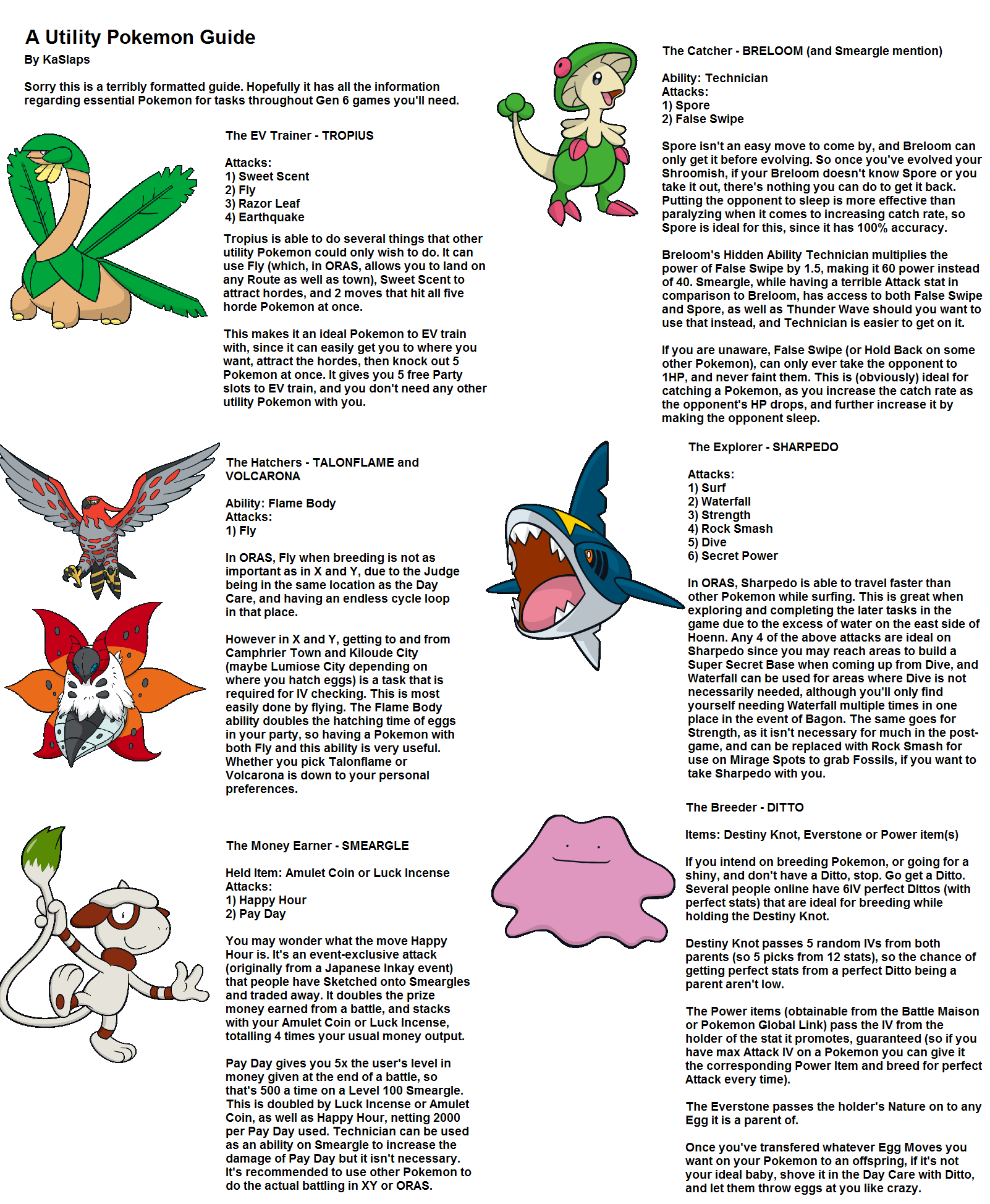 A Utility Pokemon Guide For Oras Geek Pokemon Tips
