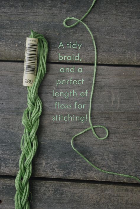 Prepping and Storing Your Embroidery Floss - a tutorial — Ms. Cleaver - Creations for a Handmade Life #embroideryfloss