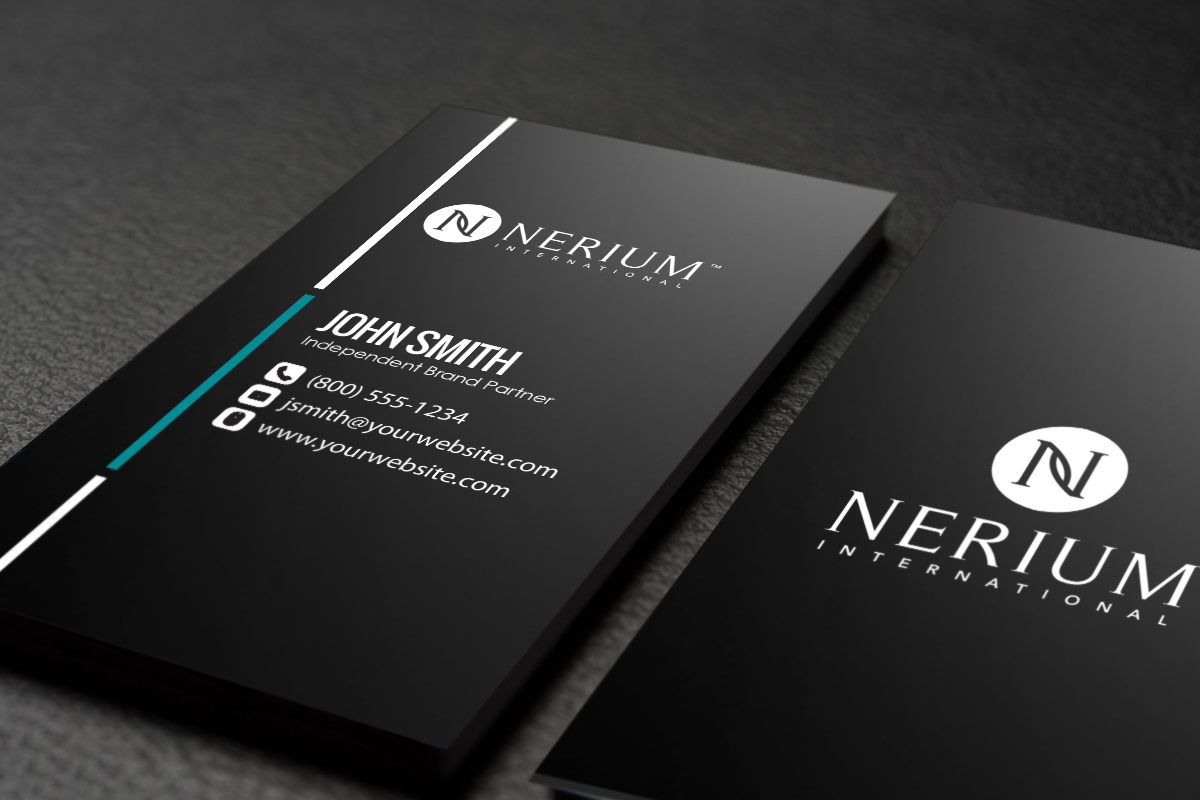 Nerium Brand Partners Mlm Nerium Print Paper Graphicdesign Businesscards Contactcard Free Business Cards Printing Business Cards Contact Card