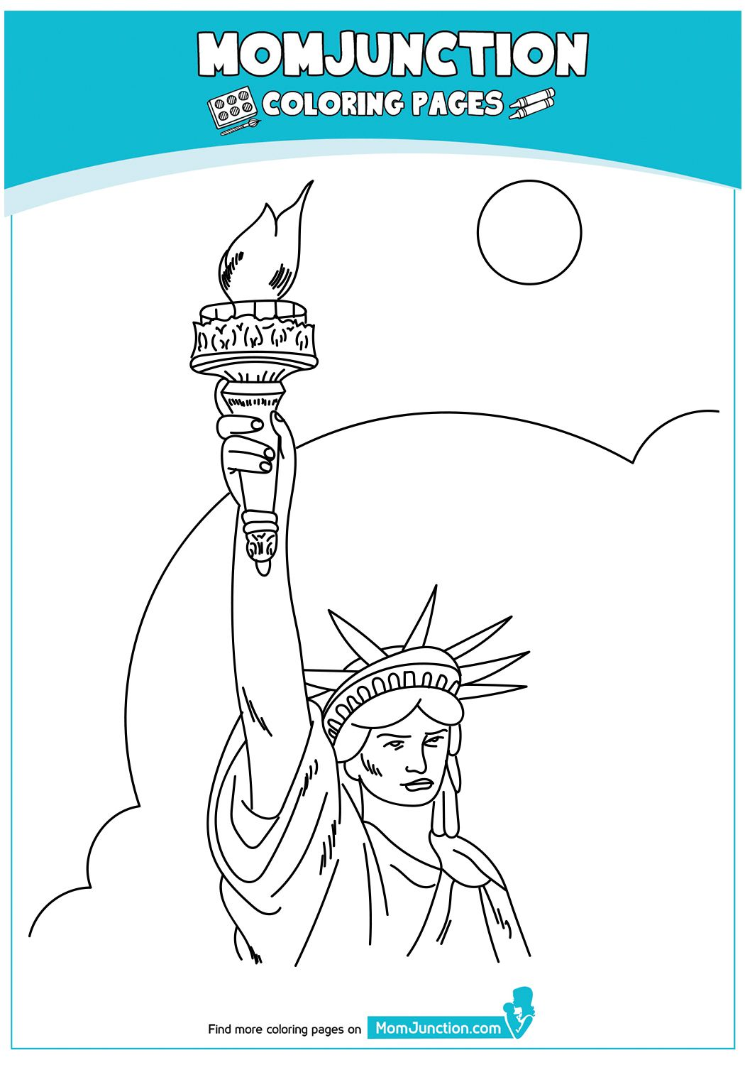 Print Coloring Image 4th Of July Coloring Pages Free Printable