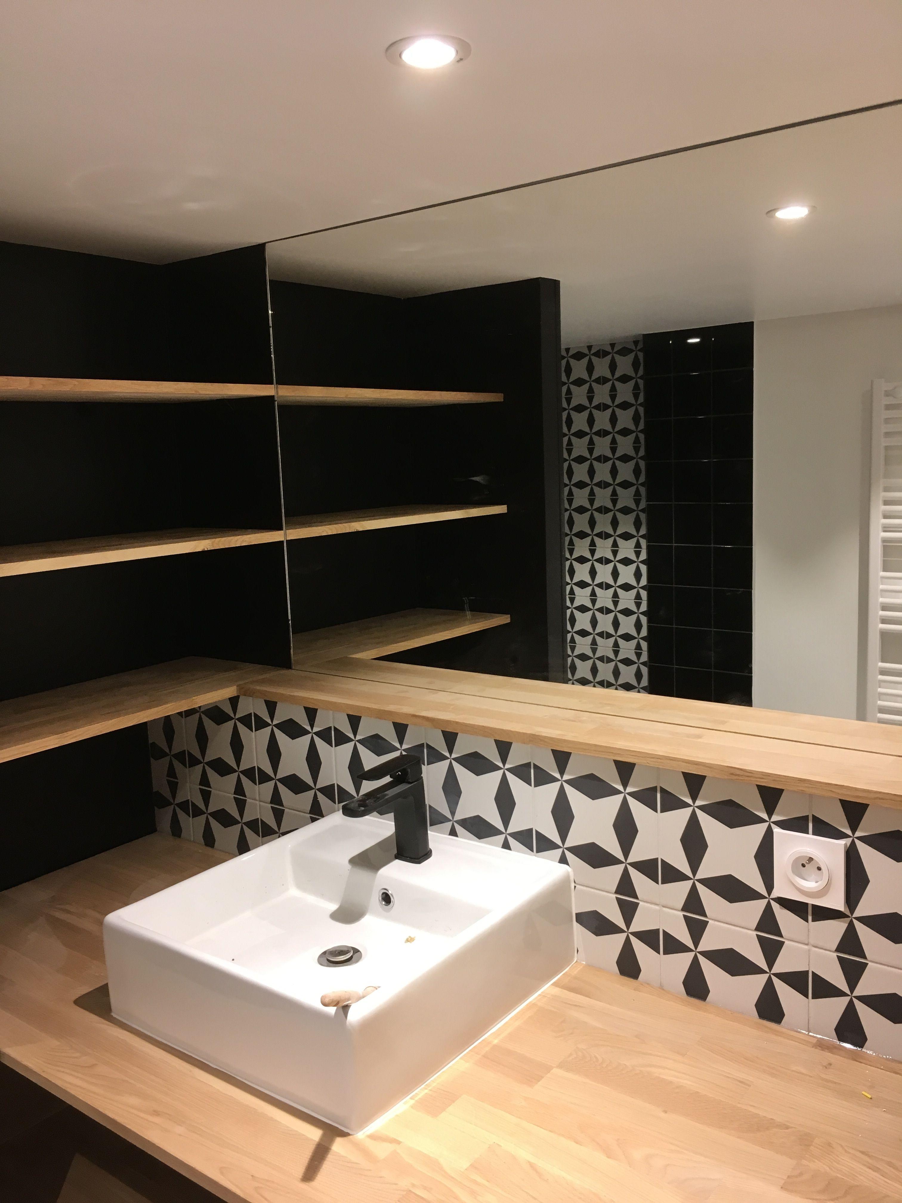 salle de bain sous mezzanine lyon