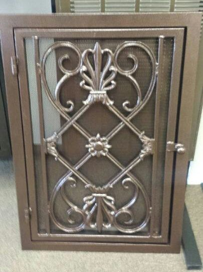 Home Return Air Vent Cover Much Nicer Decorative Wrought Iron Vent Cover Caesar Style By