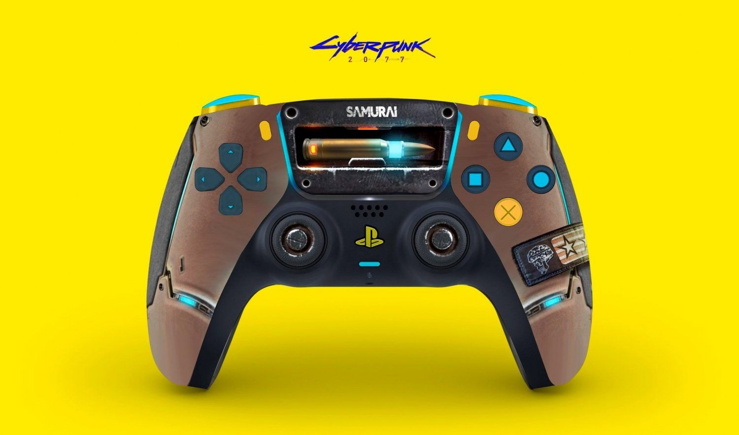 Check out this cyberpunk 2077 themed playstation 5