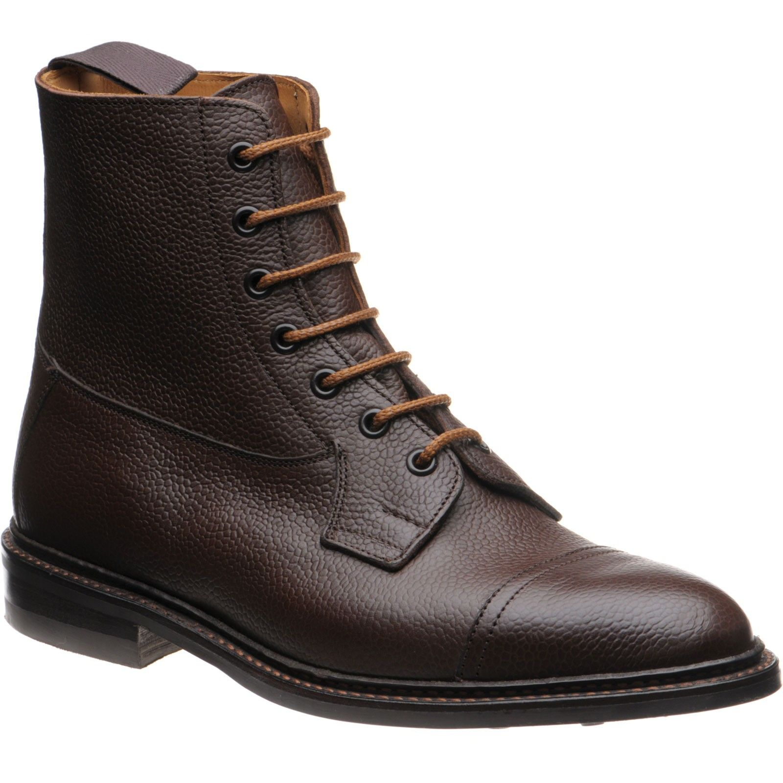 202d8a25a94 Trickers Calvert (7975) in dark brown grain from Herring Shoes | My ...