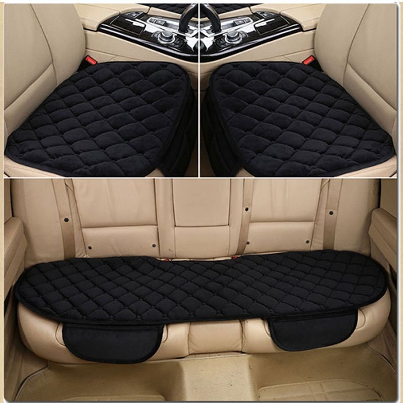 673702b0e 3Pcs Set Thicken Warm Car Seat Cover Winter automobiles seat covers ...