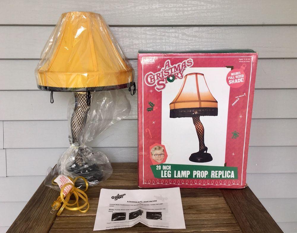 "A Christmas Story 20"" Replica Leg Lamp 3 Way Light Leg"