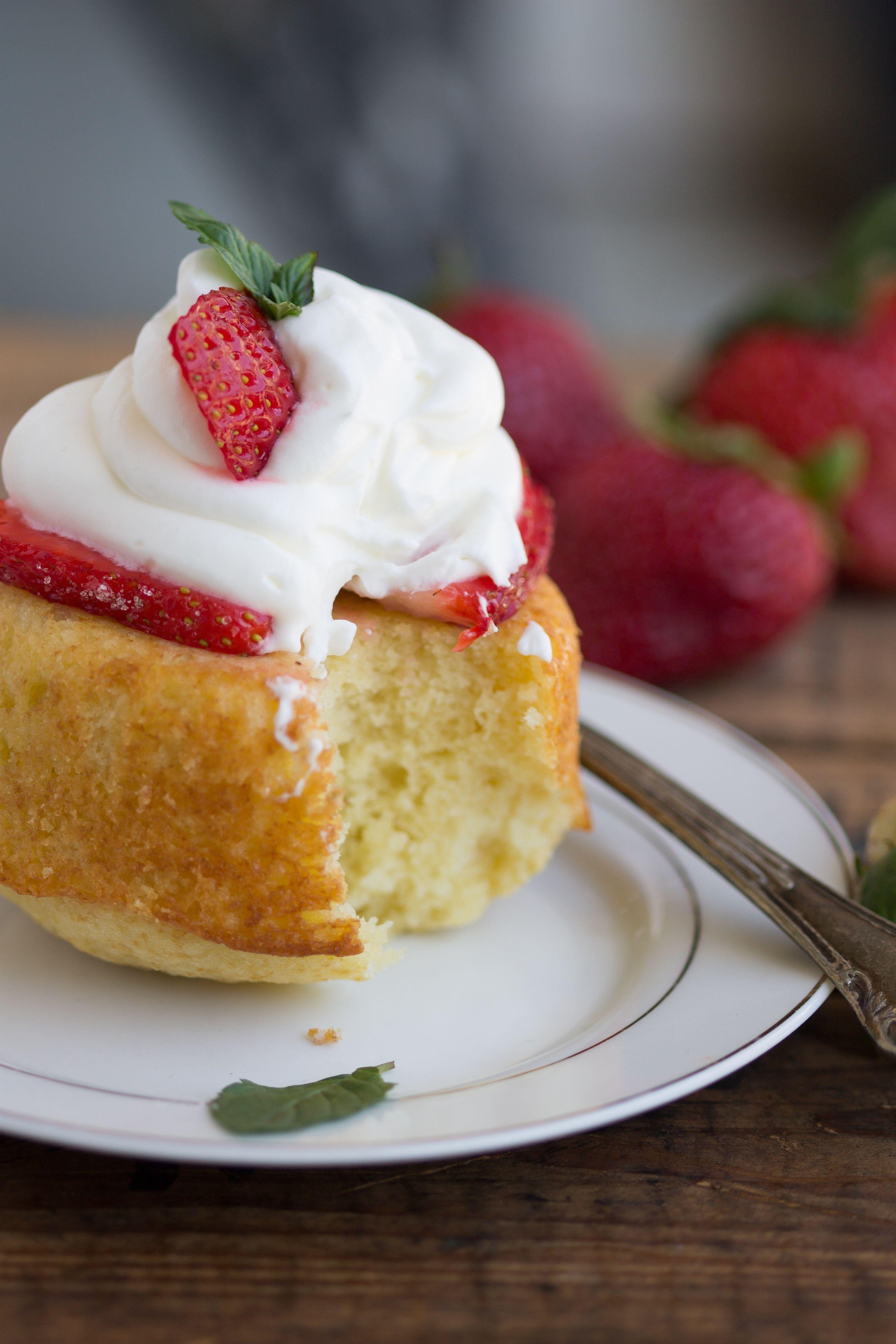 homemade strawberry shortcake