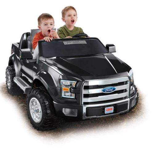 Fisher Price Power Wheels Ford F 150 12v Battery Powered Ride On