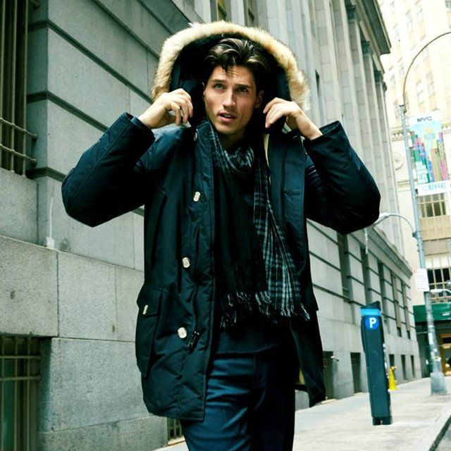 john rich arctic parka by woolrich dapper. Black Bedroom Furniture Sets. Home Design Ideas