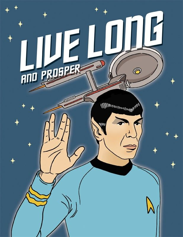 Live long and prosper star trek birthday card popcorn worthy live long and prosper star trek birthday card bookmarktalkfo Image collections