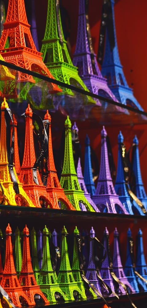 Colorful - There can't be too much Eiffel - by Olha Kuzmyn